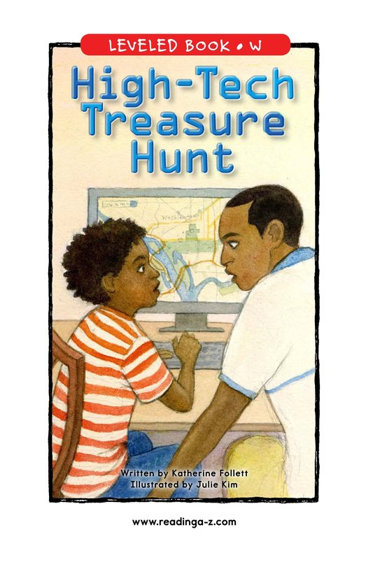 Book Preview For High-Tech Treasure Hunt Page 1