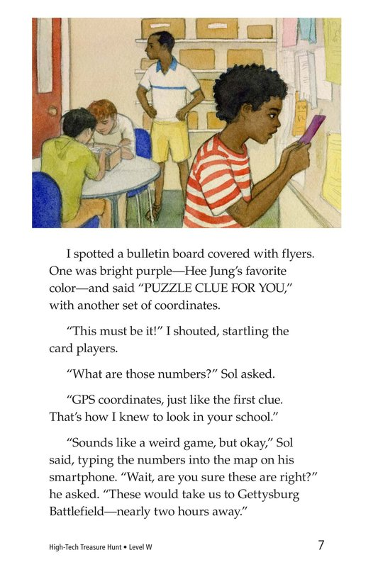 Book Preview For High-Tech Treasure Hunt Page 7