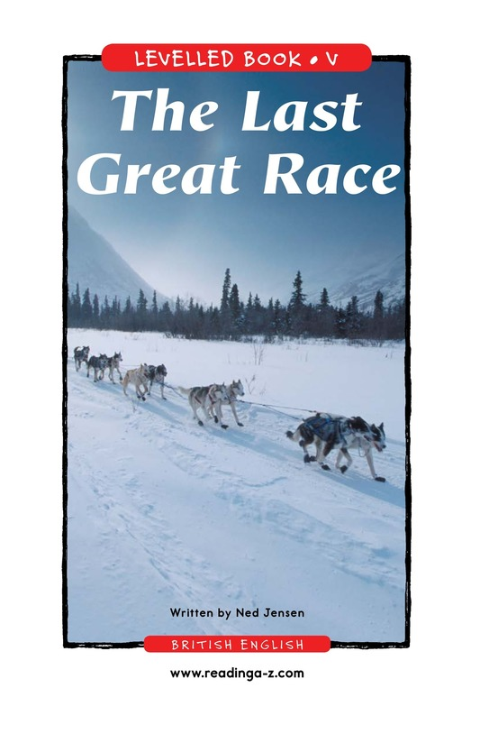 Book Preview For The Last Great Race Page 1