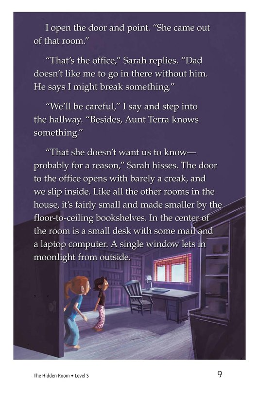 Book Preview For The Hidden Room Page 9