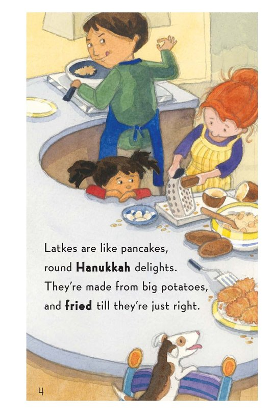 Book Preview For Who Ate My Latkes? Page 4