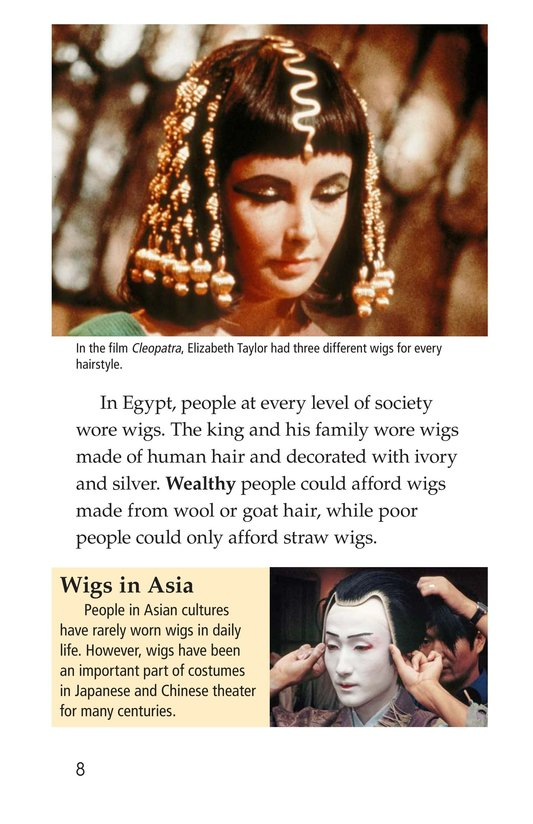 Book Preview For Wild and Wacky World of Wigs Page 8