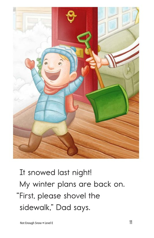 Book Preview For Not Enough Snow Page 11