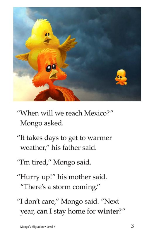 Book Preview For Mongo's Migration Page 3