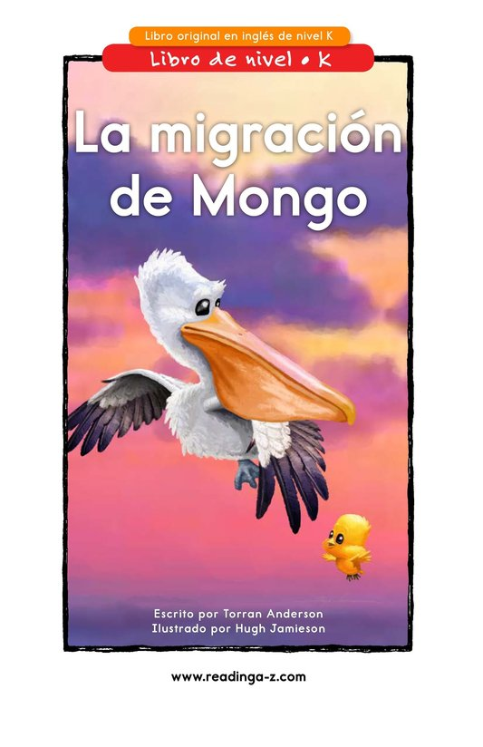 Book Preview For Mongo's Migration Page 1