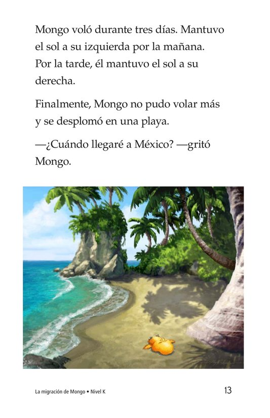 Book Preview For Mongo's Migration Page 13