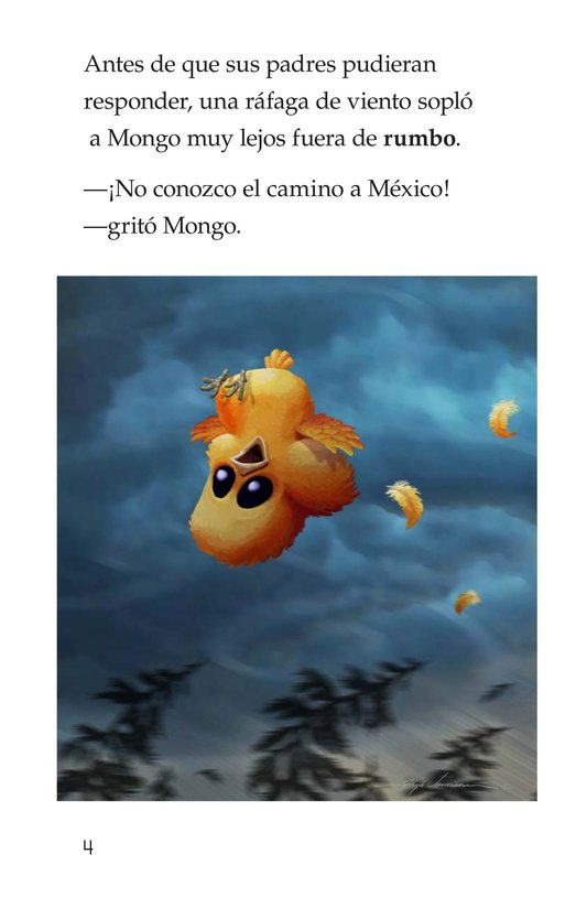 Book Preview For Mongo's Migration Page 4