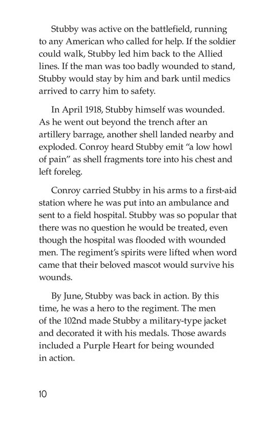 Book Preview For Sergeant Stubby Page 10