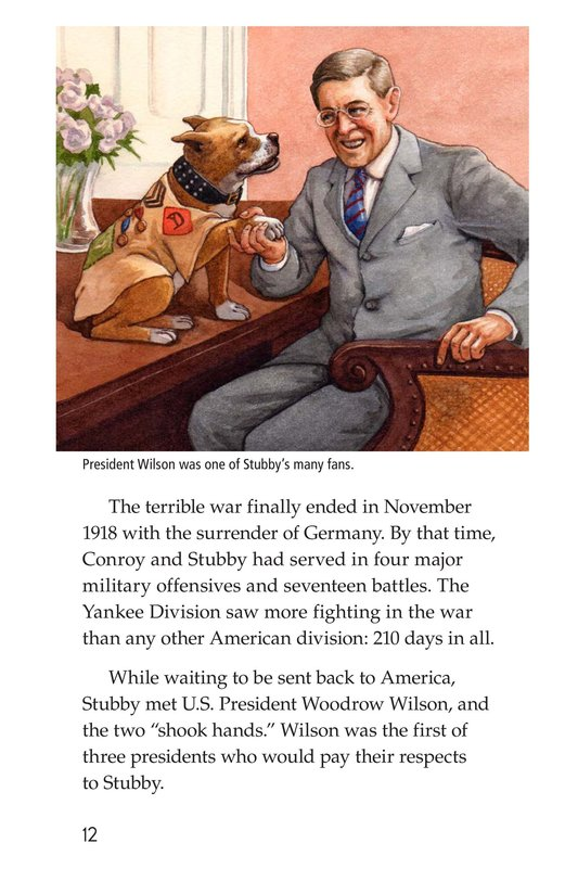 Book Preview For Sergeant Stubby Page 12
