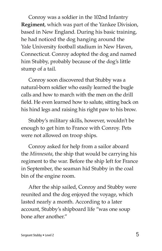 Book Preview For Sergeant Stubby Page 5