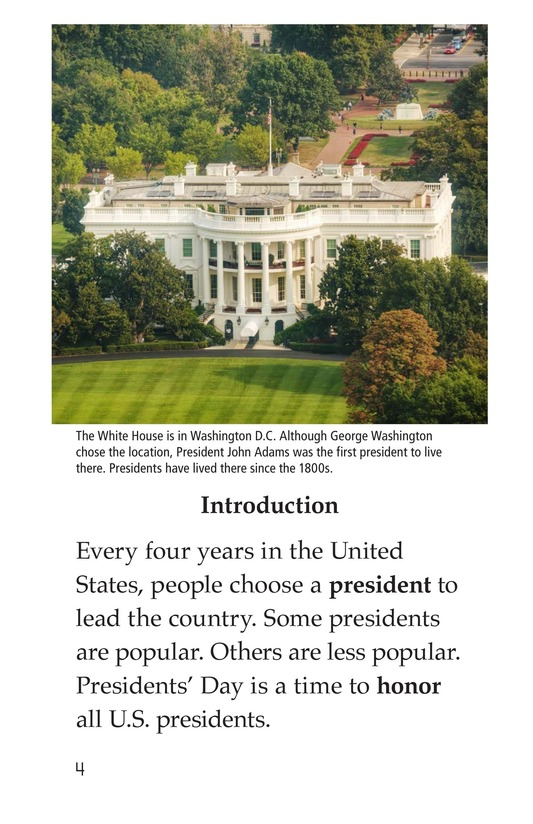 Book Preview For Presidents' Day Page 4