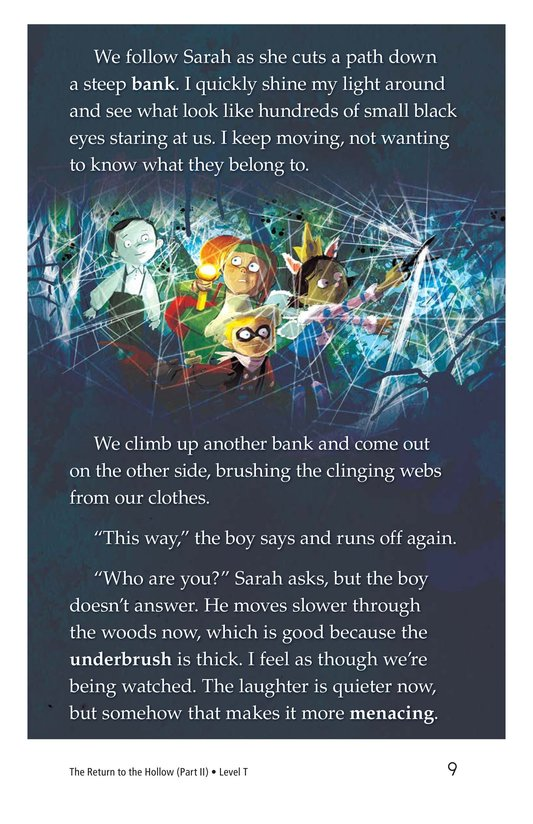 Book Preview For The Return to the Hollow (Part II) Page 9
