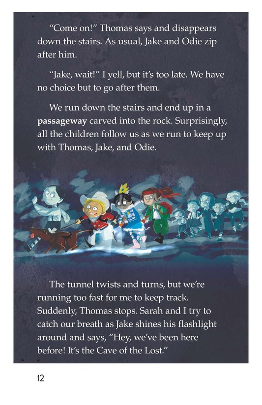 Book Preview For The Return to the Hollow (Part III) Page 12