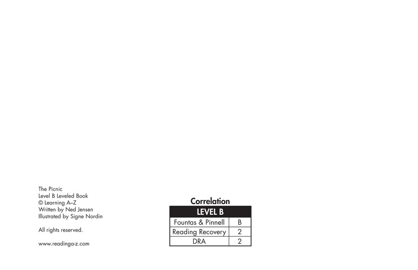 Book Preview For The Picnic Page 2