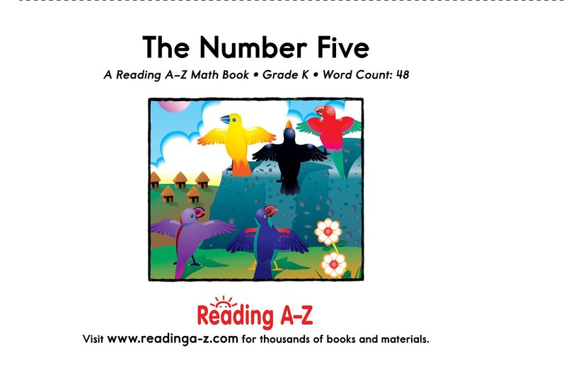 Book Preview For The Number Five Page 9