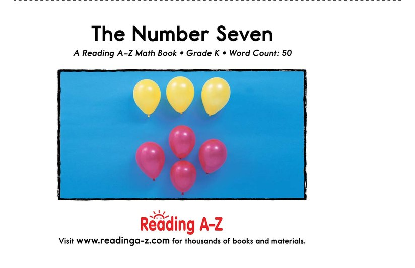 Book Preview For The Number Seven Page 9