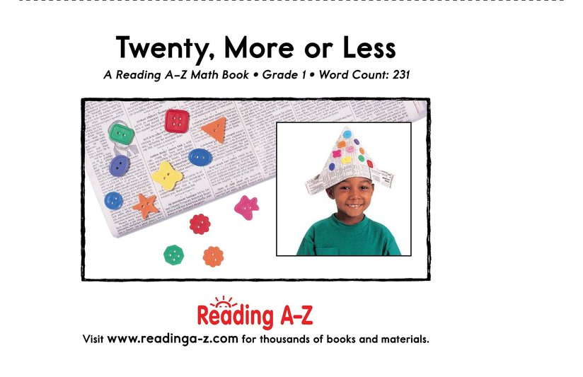 Book Preview For Twenty, More or Less Page 17