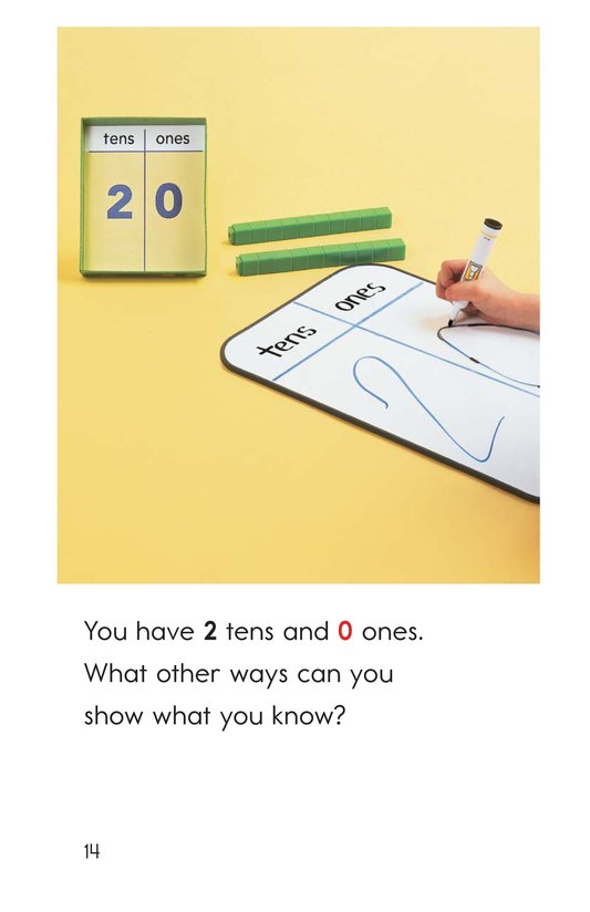 Book Preview For Tens and Ones Together Page 14