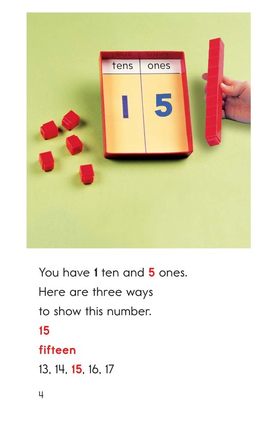 Book Preview For Tens and Ones Together Page 4