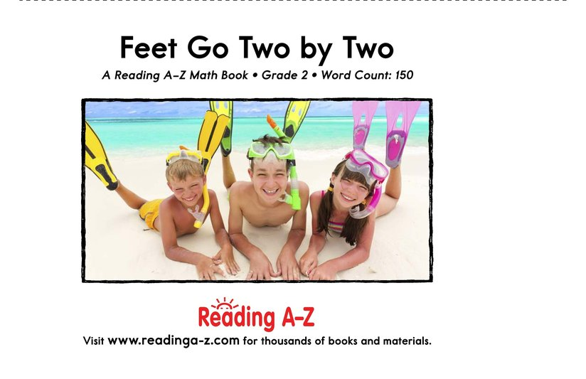 Book Preview For Feet Go Two By Two Page 17