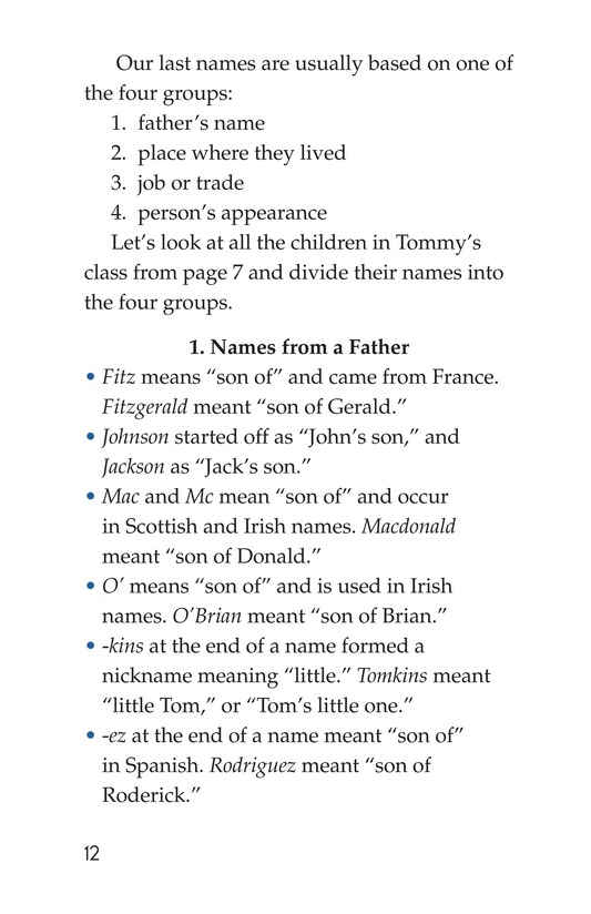 Book Preview For What's in a Name? Page 12