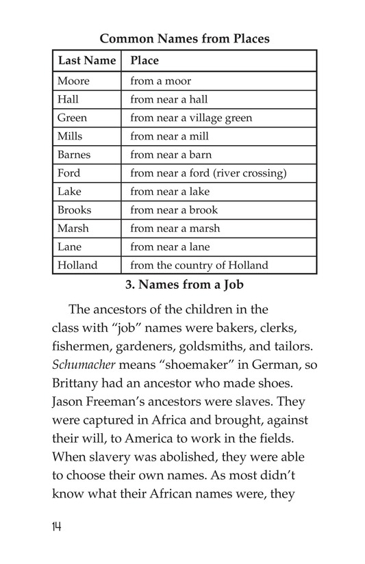 Book Preview For What's in a Name? Page 14