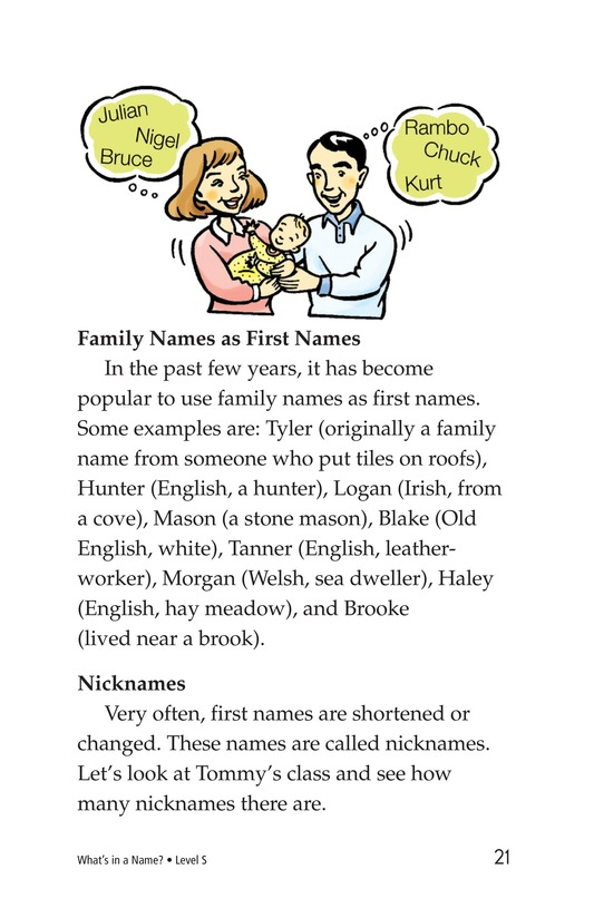 Book Preview For What's in a Name? Page 21