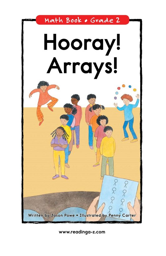 Book Preview For Hooray! Arrays! Page 0