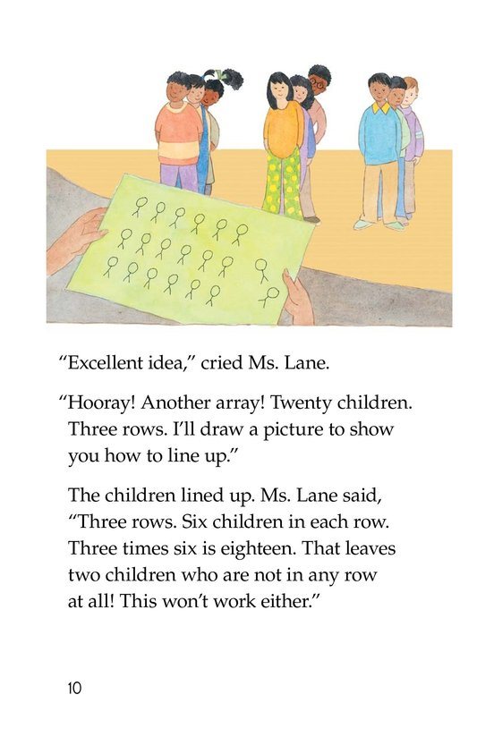 Book Preview For Hooray! Arrays! Page 10