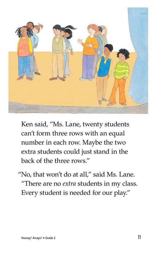 Book Preview For Hooray! Arrays! Page 11