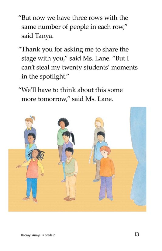 Book Preview For Hooray! Arrays! Page 13