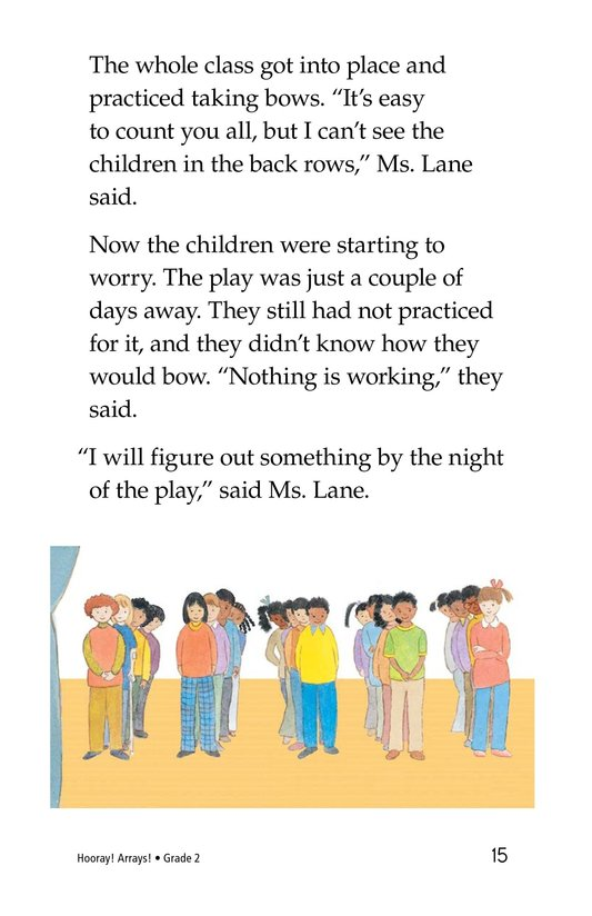 Book Preview For Hooray! Arrays! Page 15