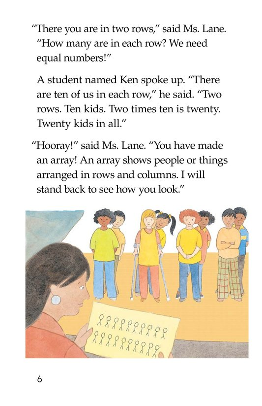 Book Preview For Hooray! Arrays! Page 6