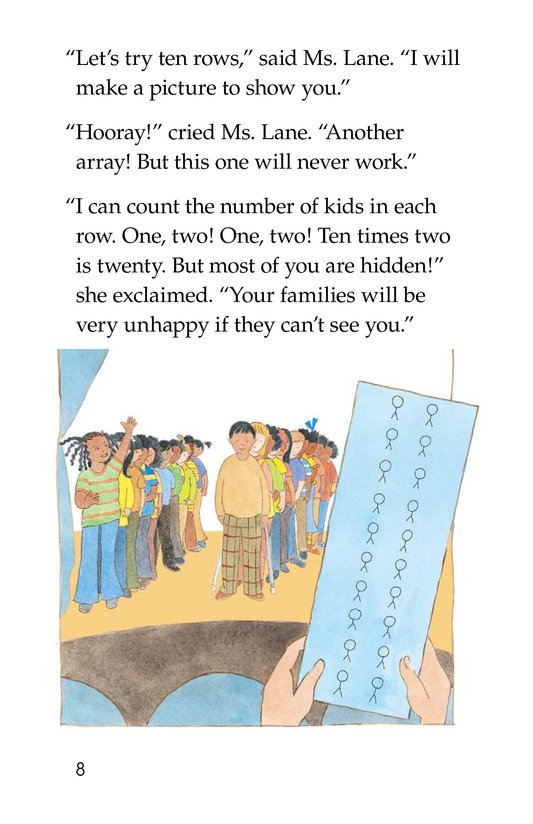 Book Preview For Hooray! Arrays! Page 8