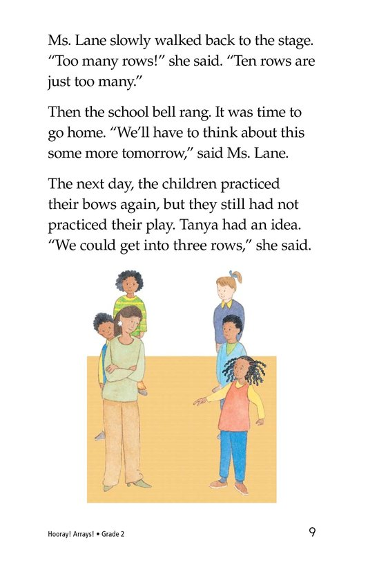 Book Preview For Hooray! Arrays! Page 9