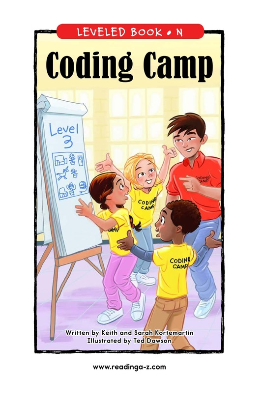 Book Preview For Coding Camp Page 1