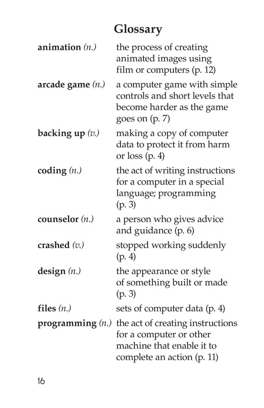 Book Preview For Coding Camp Page 16