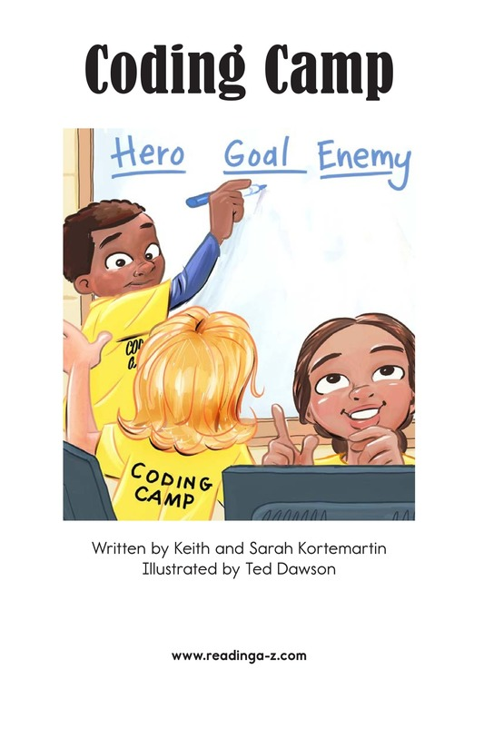 Book Preview For Coding Camp Page 2