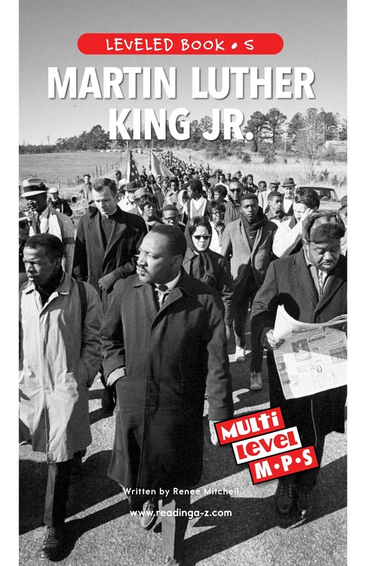 Book Preview For Martin Luther King, Jr. Page 0
