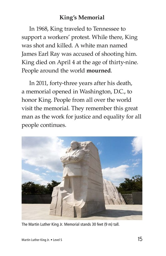 Book Preview For Martin Luther King, Jr. Page 15