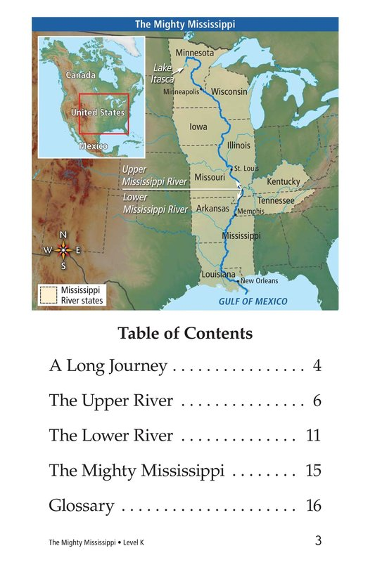 Book Preview For The Mighty Mississippi Page 3