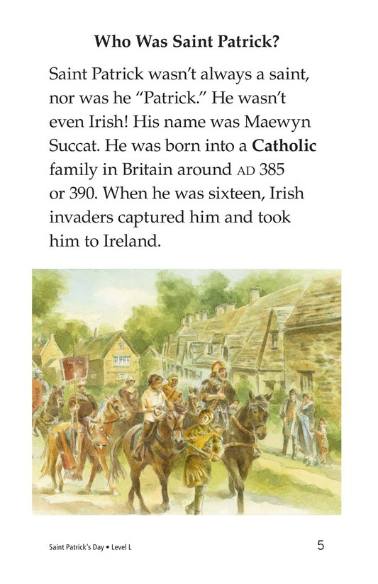 Book Preview For Saint Patrick's Day Page 5