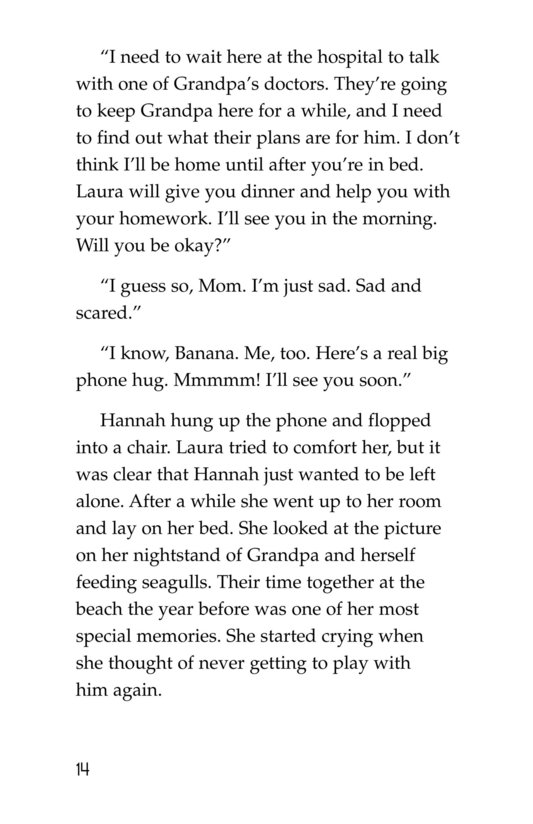 Book Preview For Losing Grandpa Page 14