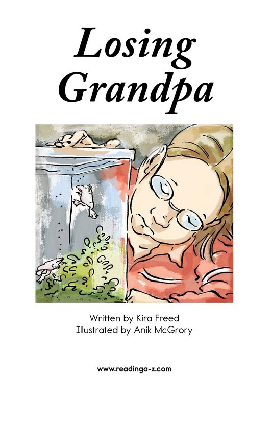 Book Preview For Losing Grandpa Page 2