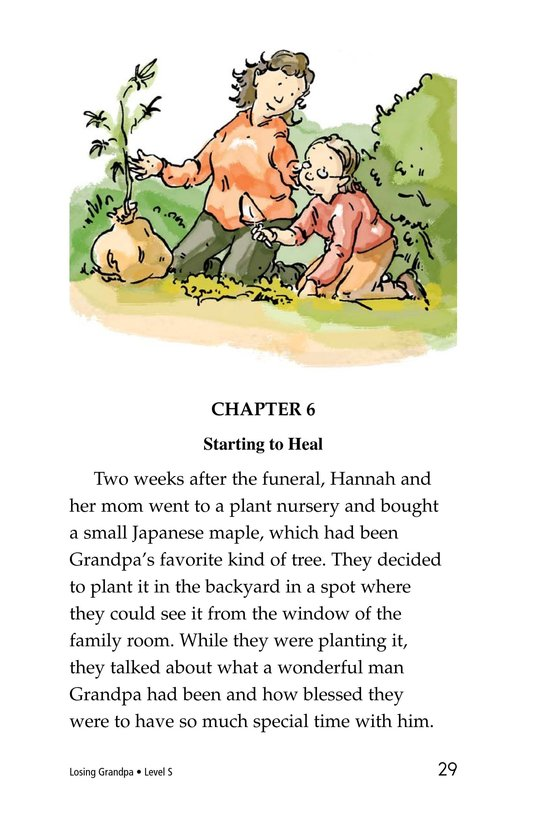 Book Preview For Losing Grandpa Page 29