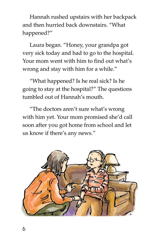 Book Preview For Losing Grandpa Page 6