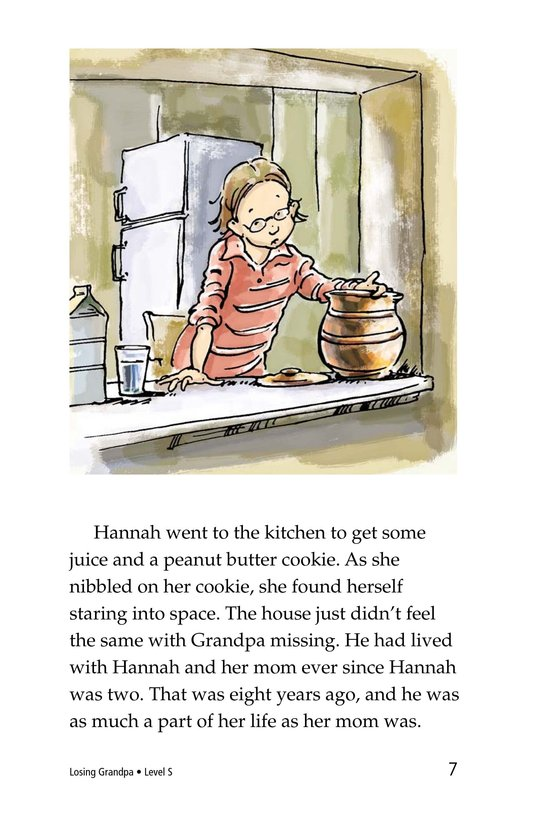 Book Preview For Losing Grandpa Page 7