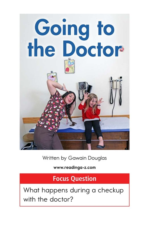 Book Preview For Going to the Doctor Page 1