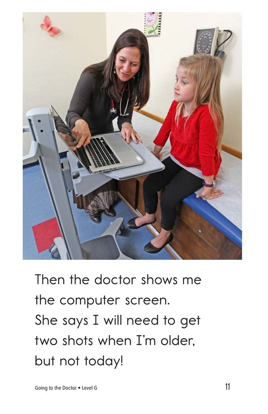Book Preview For Going to the Doctor Page 11