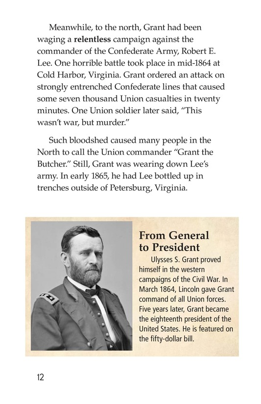 Book Preview For 1865: The End of the Civil War Page 12